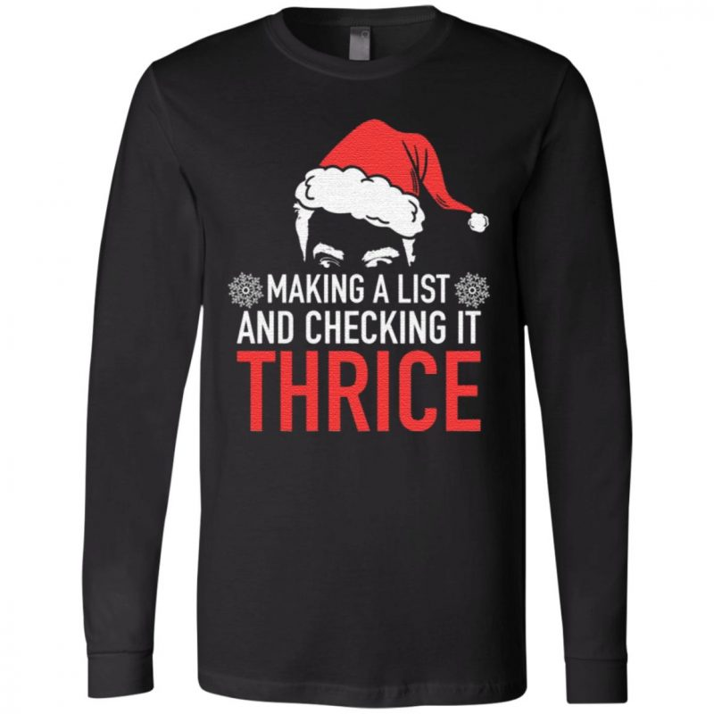 Making A List And Checking It Thrice T-Shirt