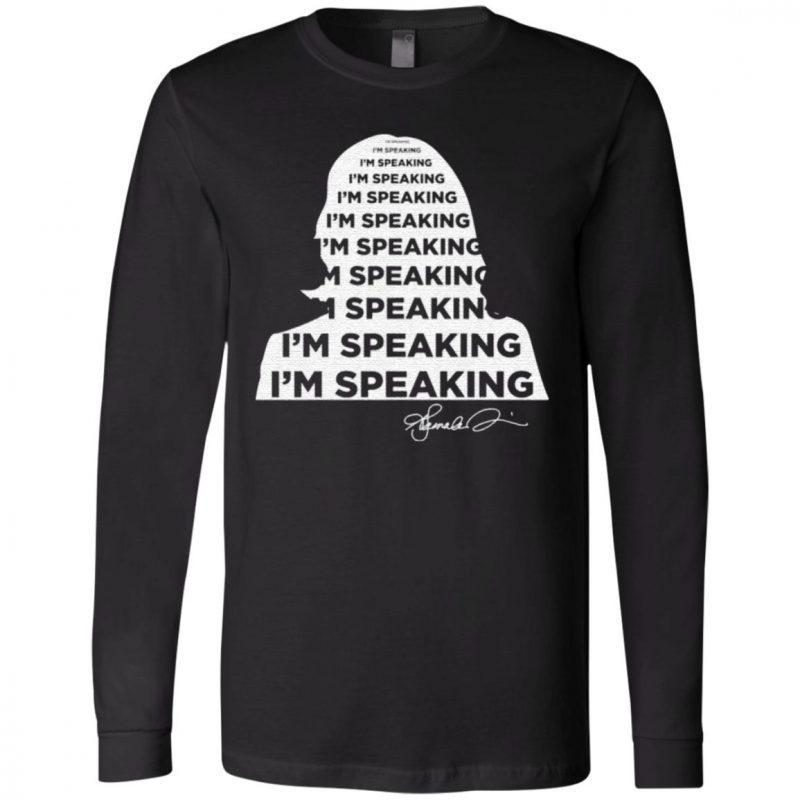 I'm Speaking Kamala Harris Signature T-Shirt