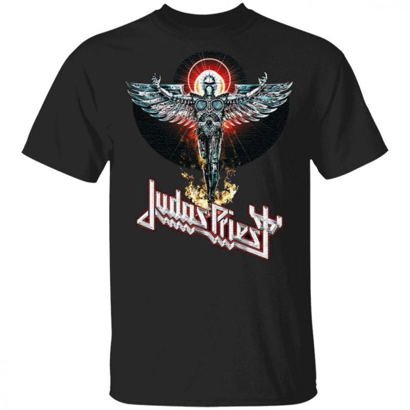 Music Rock Metal Judas Graphic T-Shirt