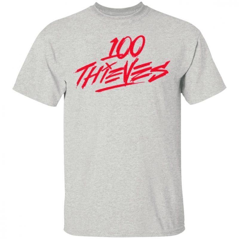 Los Angeles 100 Thieves T Shirt