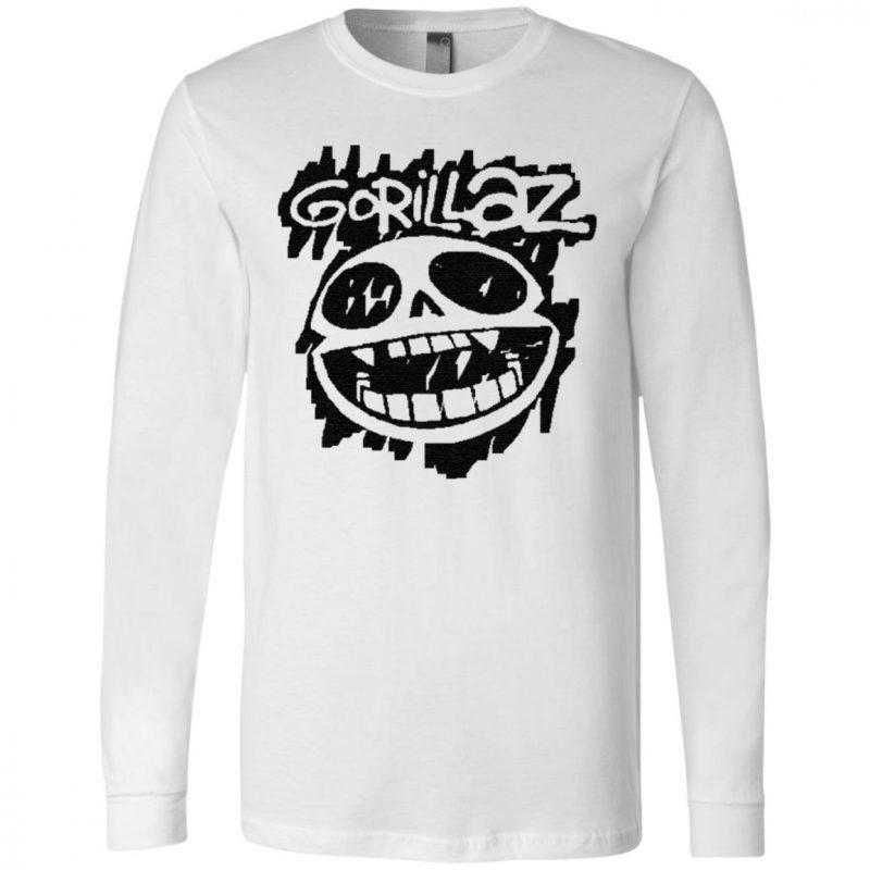 gorillaz t shirt
