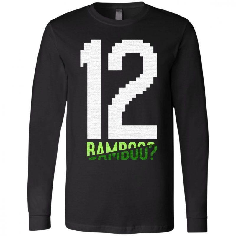 12 bamboo t shirt