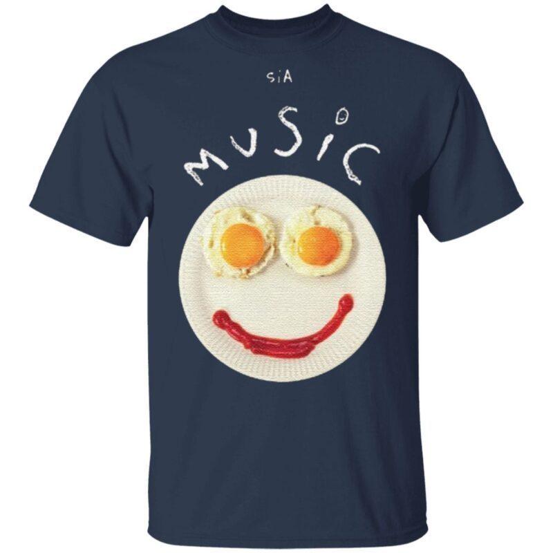Sia Music Tee Shirt