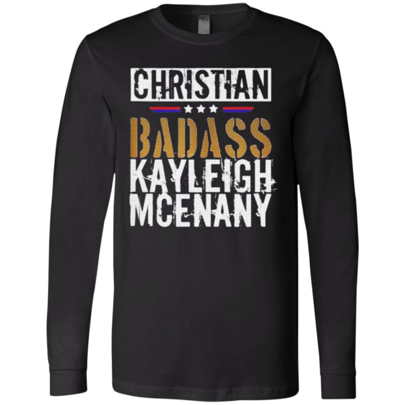 Christian Badass Kayleigh Mcenany t shirt