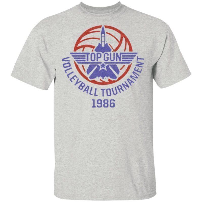 Top Gun Volleyball Tournament 1986 Fightertown Usa T Shirt