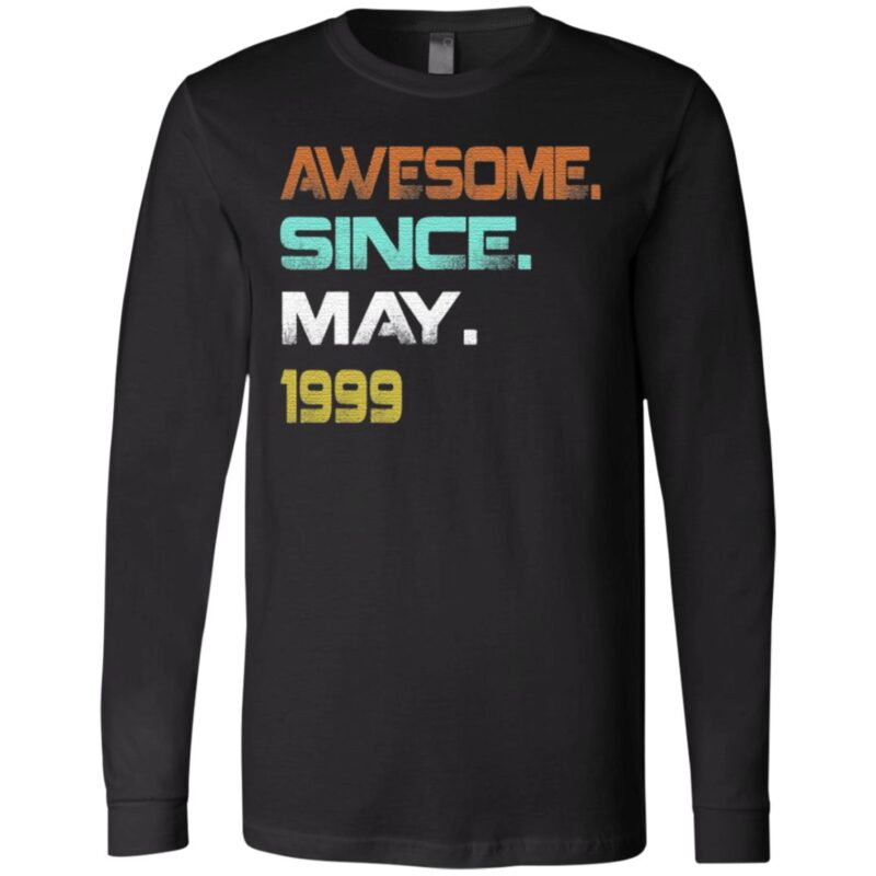 Awesome Since May 1999 21Th Birthday TShirt