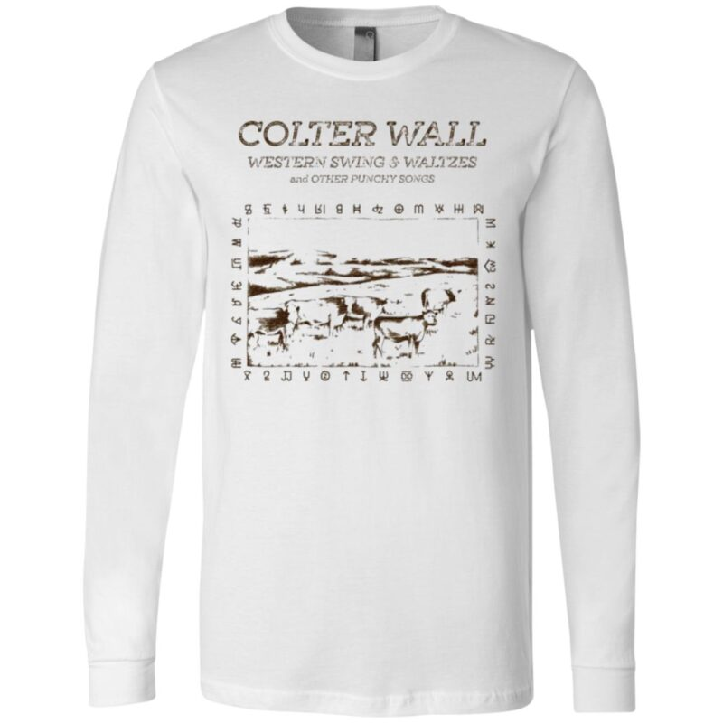 Colter Wall Releases Western Swing Waltzes And Other Punchy Songs T Shirt