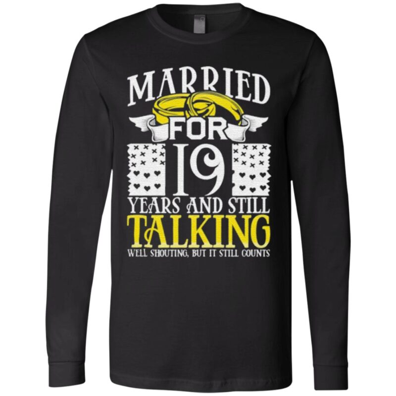19th Wedding Anniversary for Wife Her Marriage shirt
