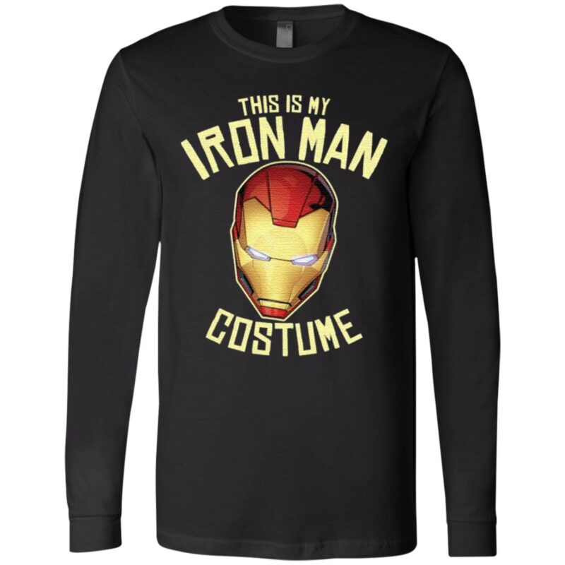 This Is My Iron Man Costume TShirt