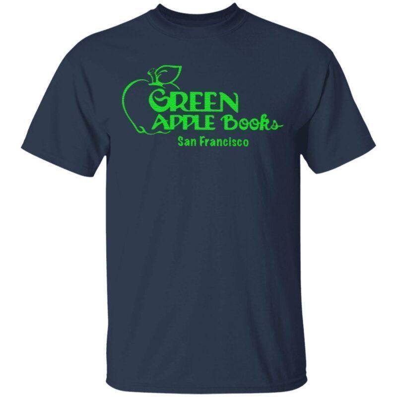 green apple books t shirt