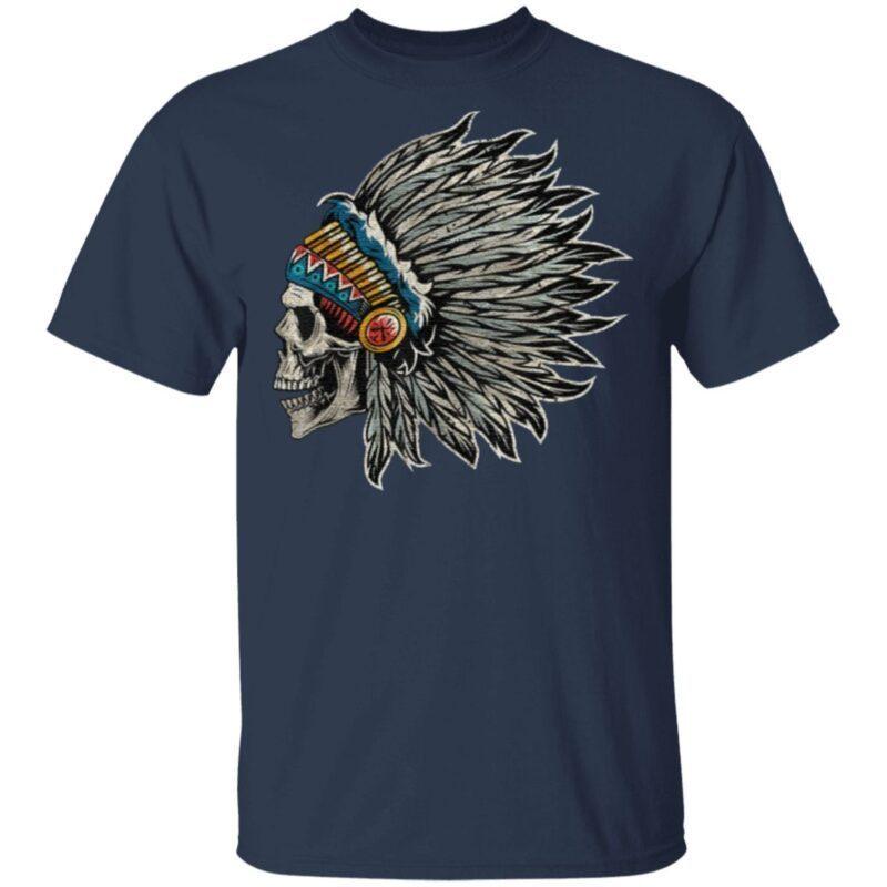 Native American Indigenous Headdresses T Shirt