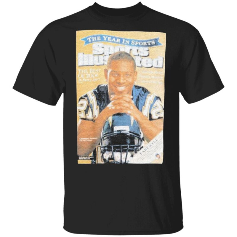 Cover Tee San Diego Chargers 2009 Ladainian Tomlinson t shirt