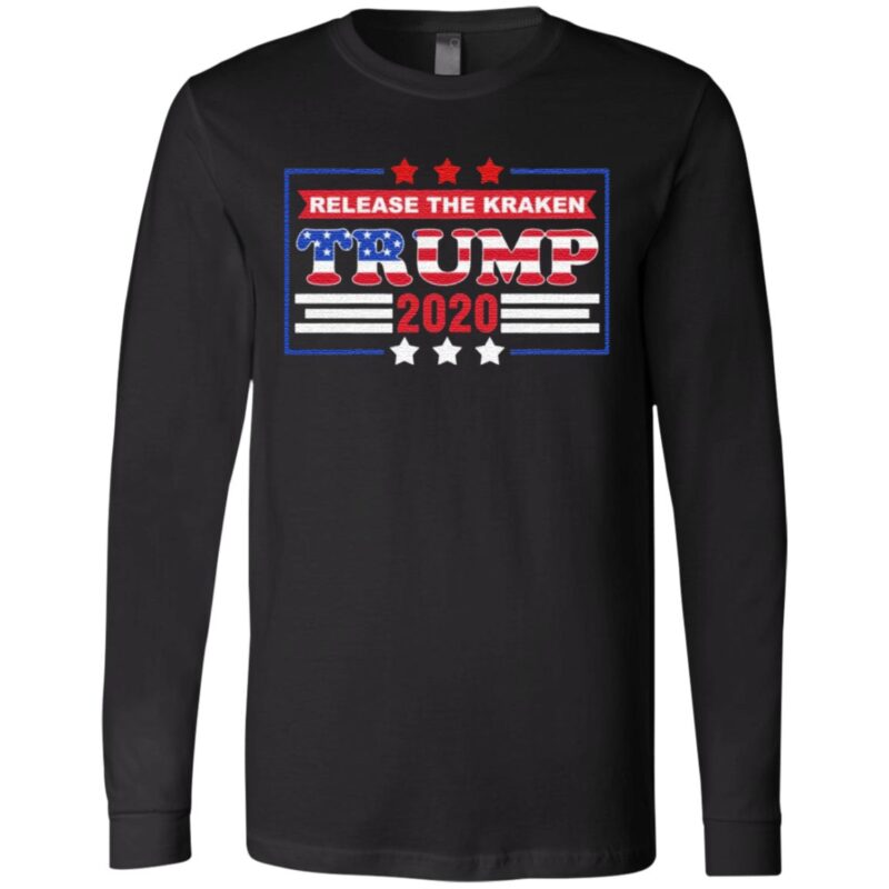 Release the Kraken Trump Supported – Rigged Election Not Biden 2020 T-Shirt