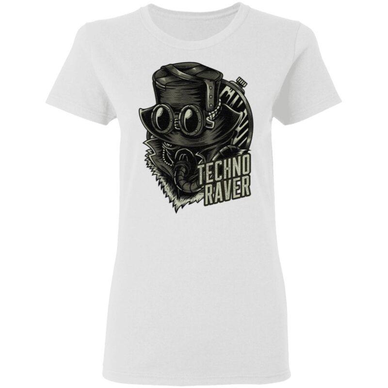 Techno Music Raver T Shirt