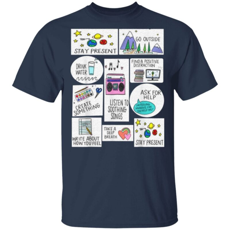 Activities For When You Are Anxious Anxiety Activity shirt