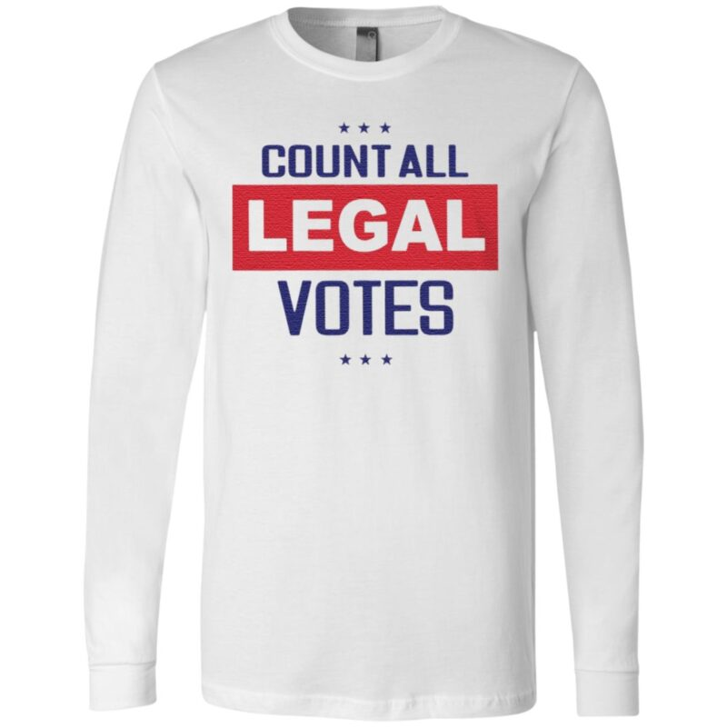 count all legal votes t shirt