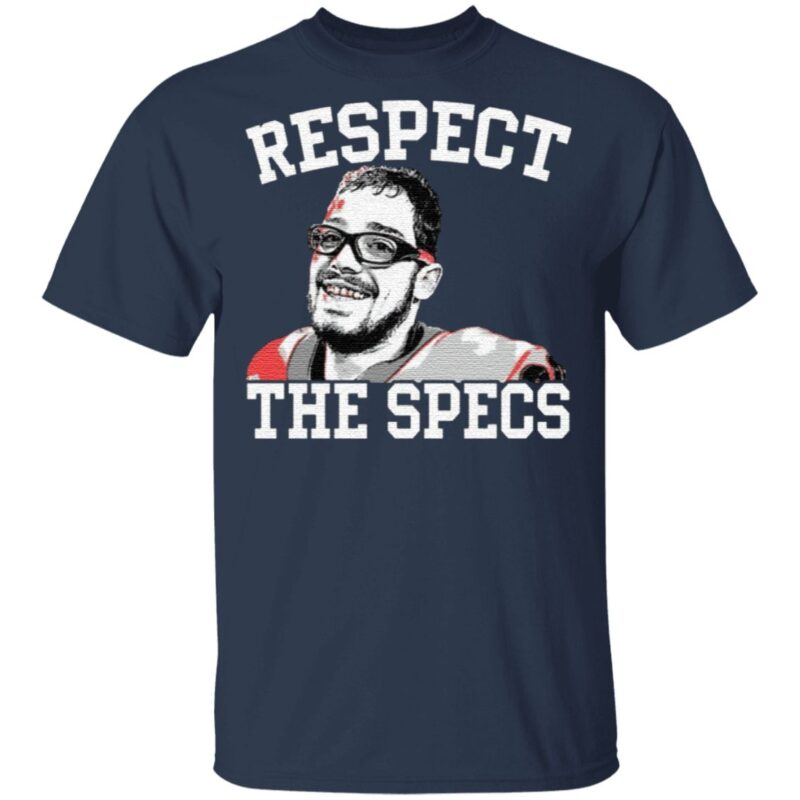 Rodrigo Blankenship Respect The Specs TShirt