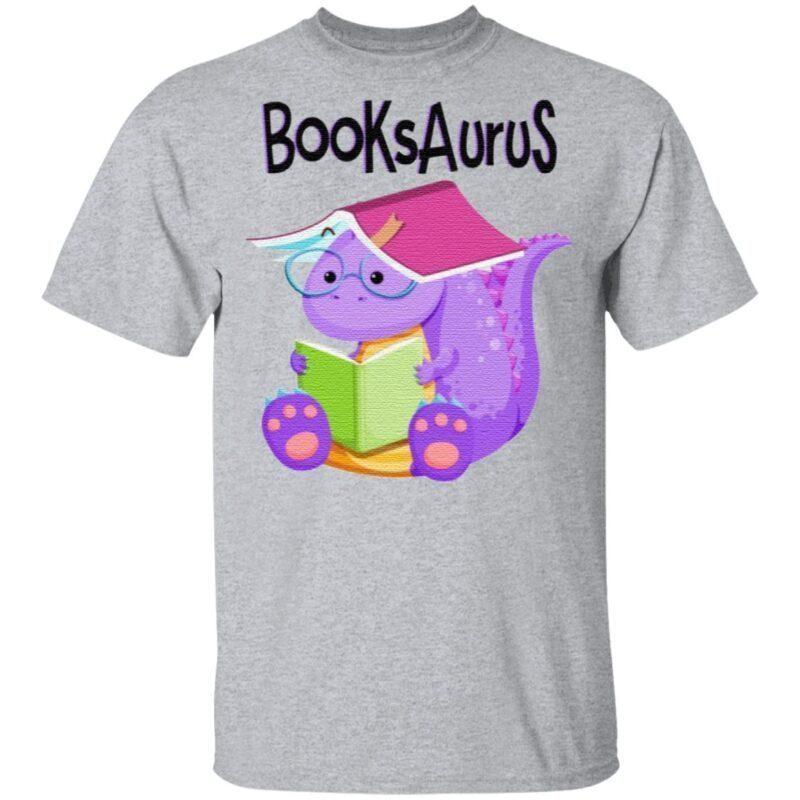 T Rex Reading BooksAurus T Shirt