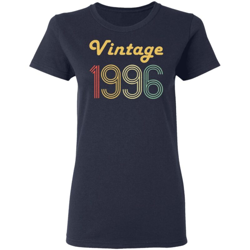 24Th Birthday Gifts For Men Age 24 Years Old Vintage 1996 T Shirt