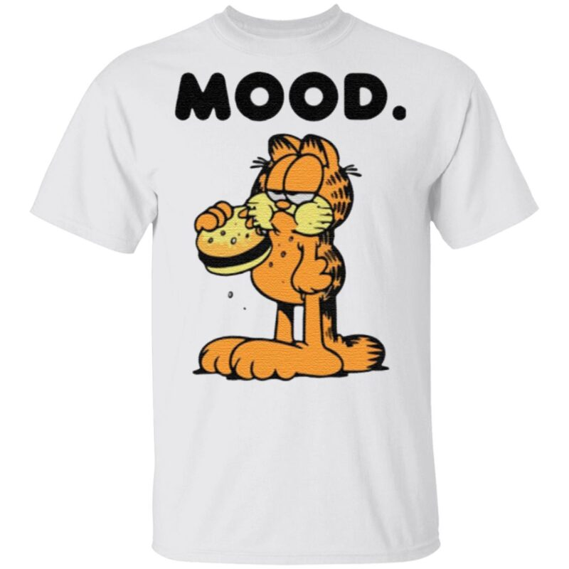 Garfield mood t shirt