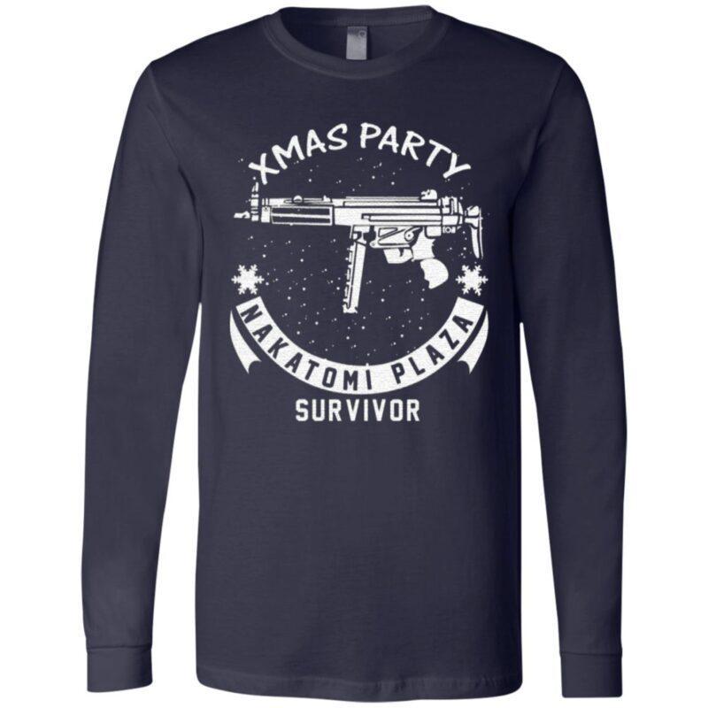 Xmas Party Nakatomi Plaza Survivor Christmas TShirt