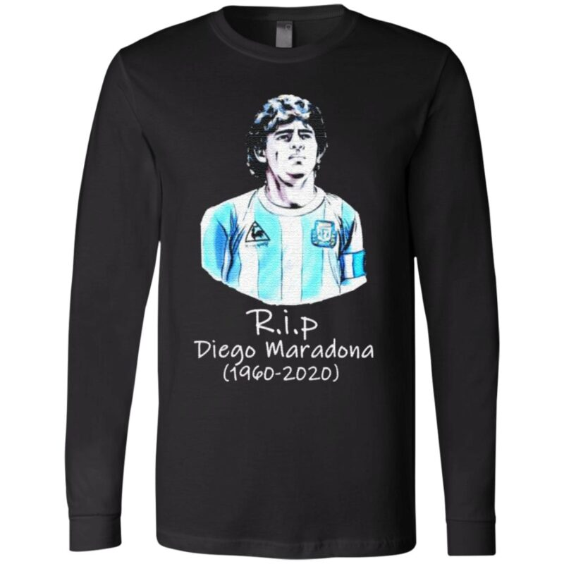 RIP Diego Maradona 1960 2020 Legend Never Die Signature T Shirt