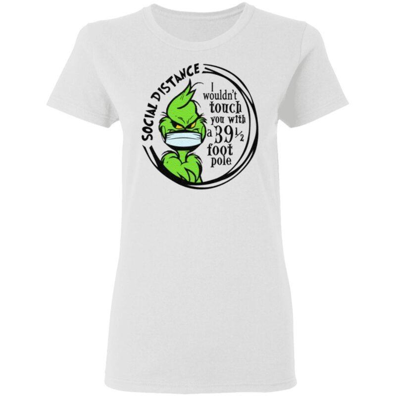 Grinch Social Distancing T Shirt