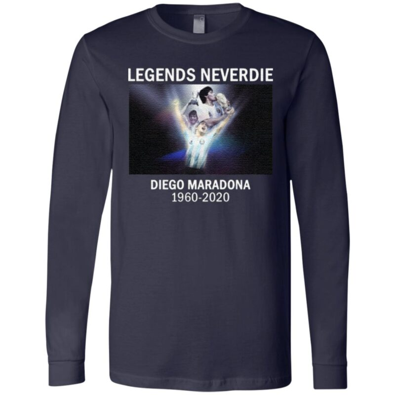 Legends Neverdie Diego Maradona 1960-2020 T-Shirt