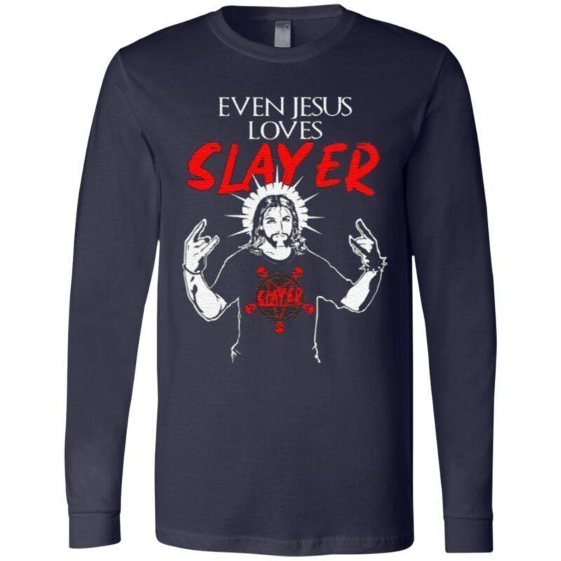 Even Jesus Loves Slayer Christian T Shirt