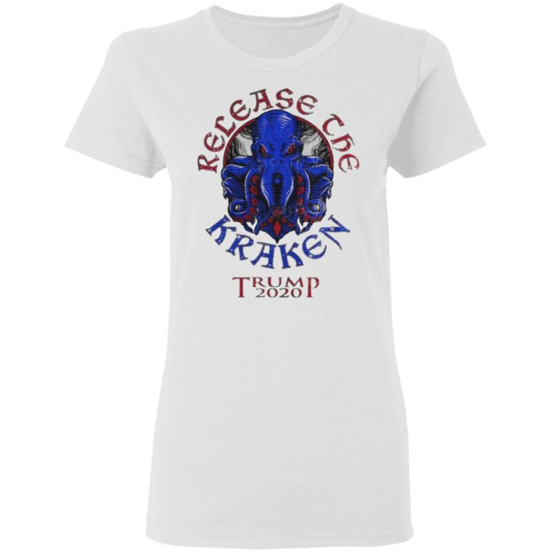 Release The Kraken Trump 2020 Republican Supporter T Shirt