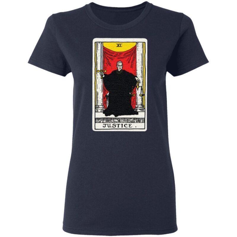 Ruth Bader Ginsburg justice tarot card t shirt