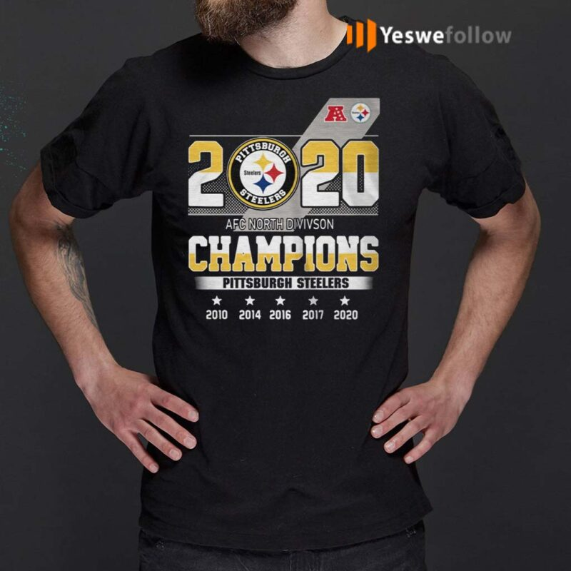 2020-AFC-North-division-Champions-Pittsburgh-Steelers-shirt