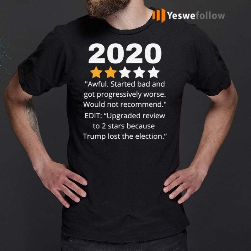 2020-Review-Two-Stars-Awful-Bad-Rating-Would-Not-Recommend-Shirts