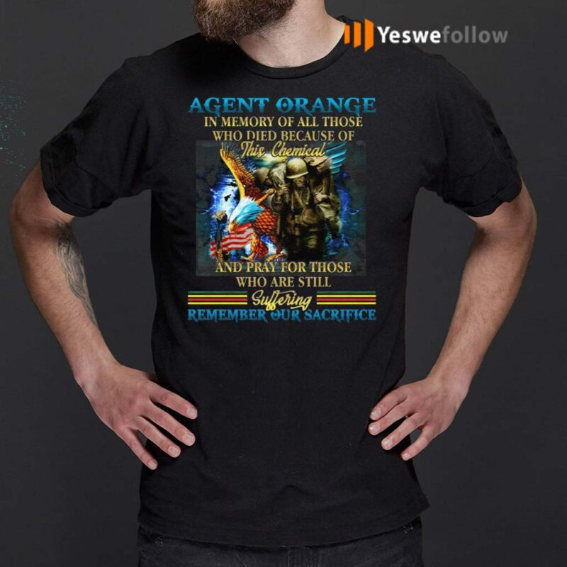 Agent-Orange-In-Memory-Of-All-Those-Who-Died-Because-Of-This-Chemical-And-Pray-For-Those-Who-Are-Still-T-Shirt