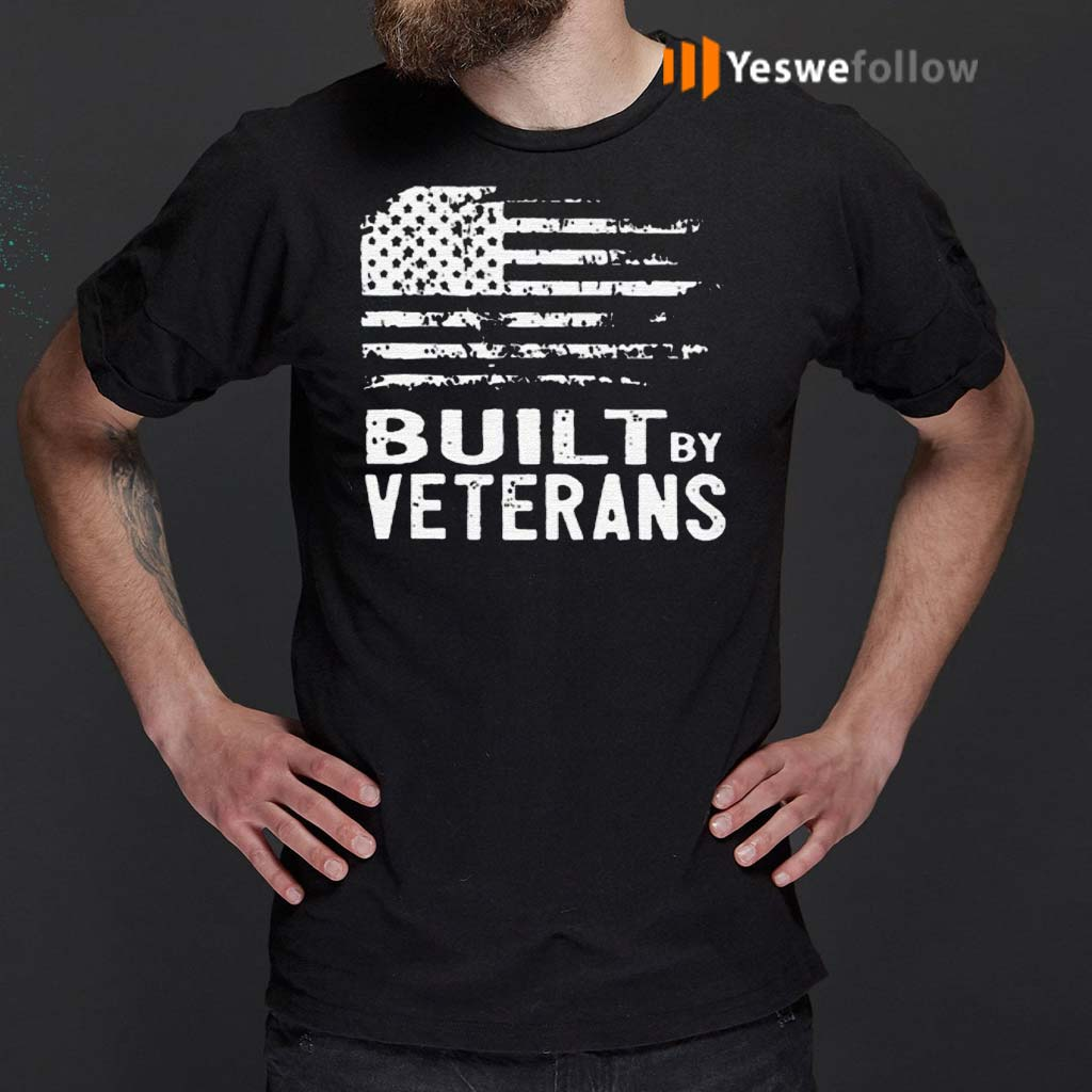 America-Built-By-Veterans-Shirts