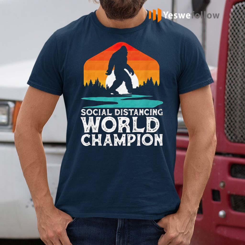 Bigfoot-Social-Distancing-World-Champion-Sasquatch-Vintage-Shirts