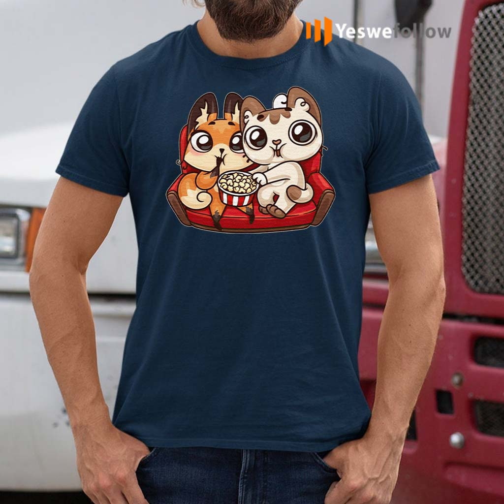 Cats-Valentines-Day-T-Shirts