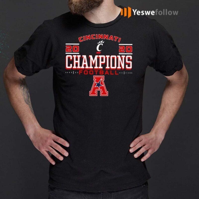 Cincinnati-Bearcats-2020-AAC-Football-Champions-Shirts