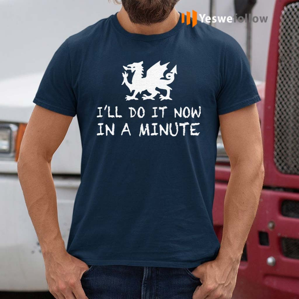 Dragon-I'll-do-it-now-in-a-minute-shirts