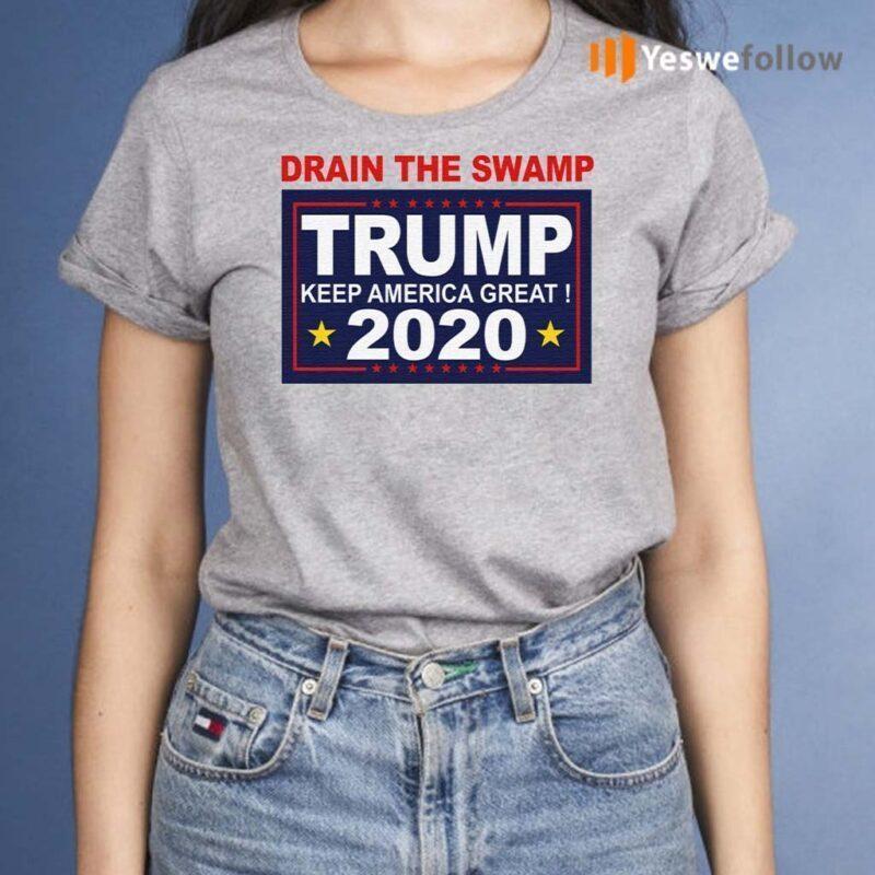 Drain-The-Swamp-Trump-Keep-America-Great-2020-TShirt