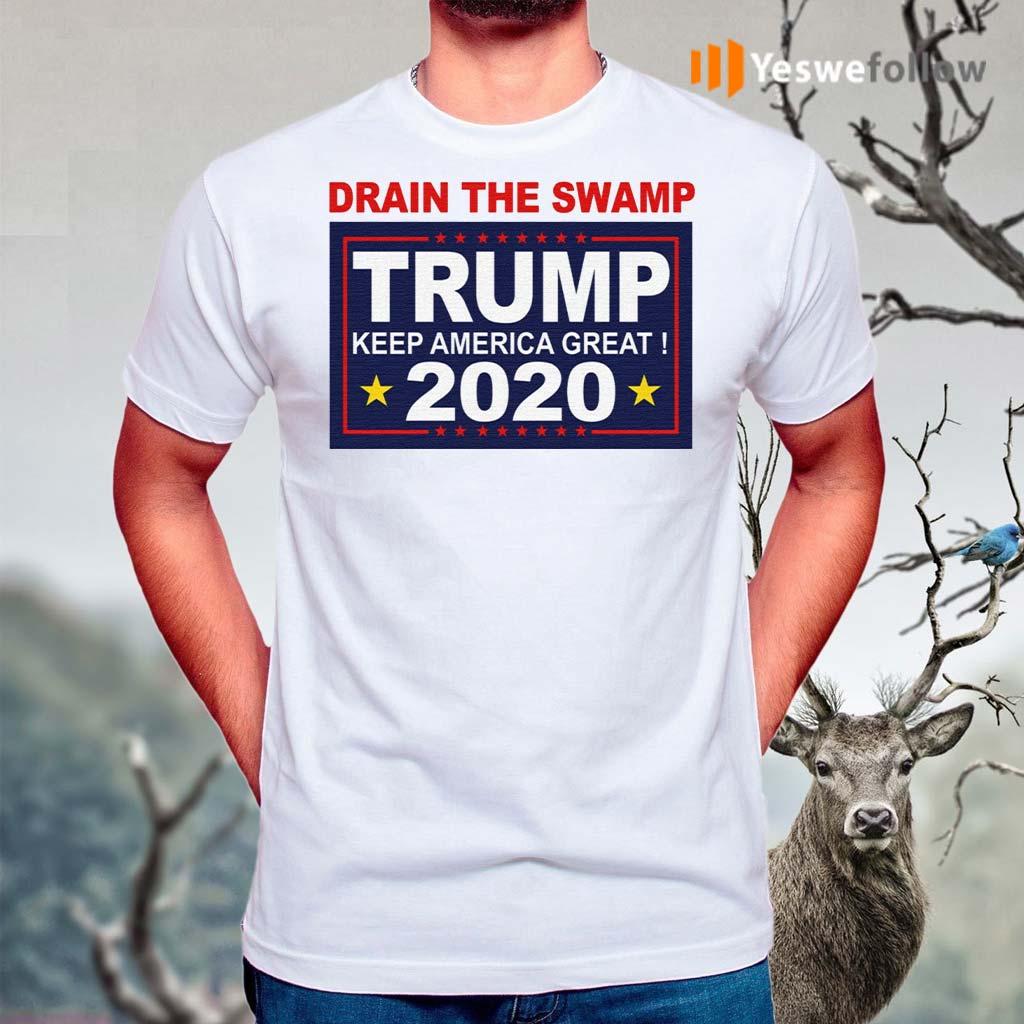 Drain-The-Swamp-Trump-Keep-America-Great-2020-TShirts