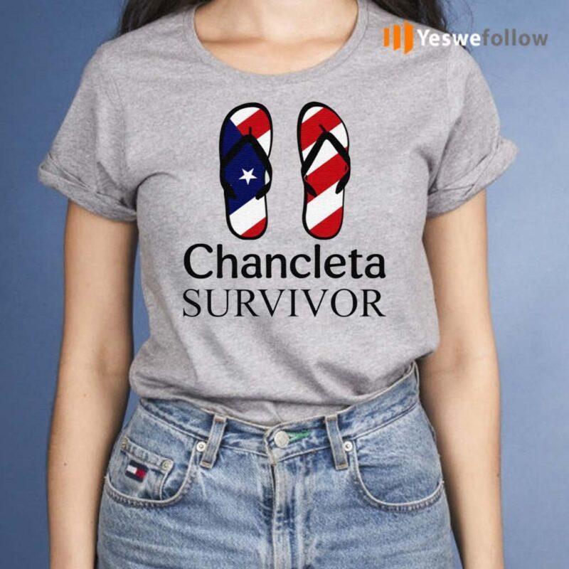 Flip-Flop-American-Chancleta-Survivor-TShirts