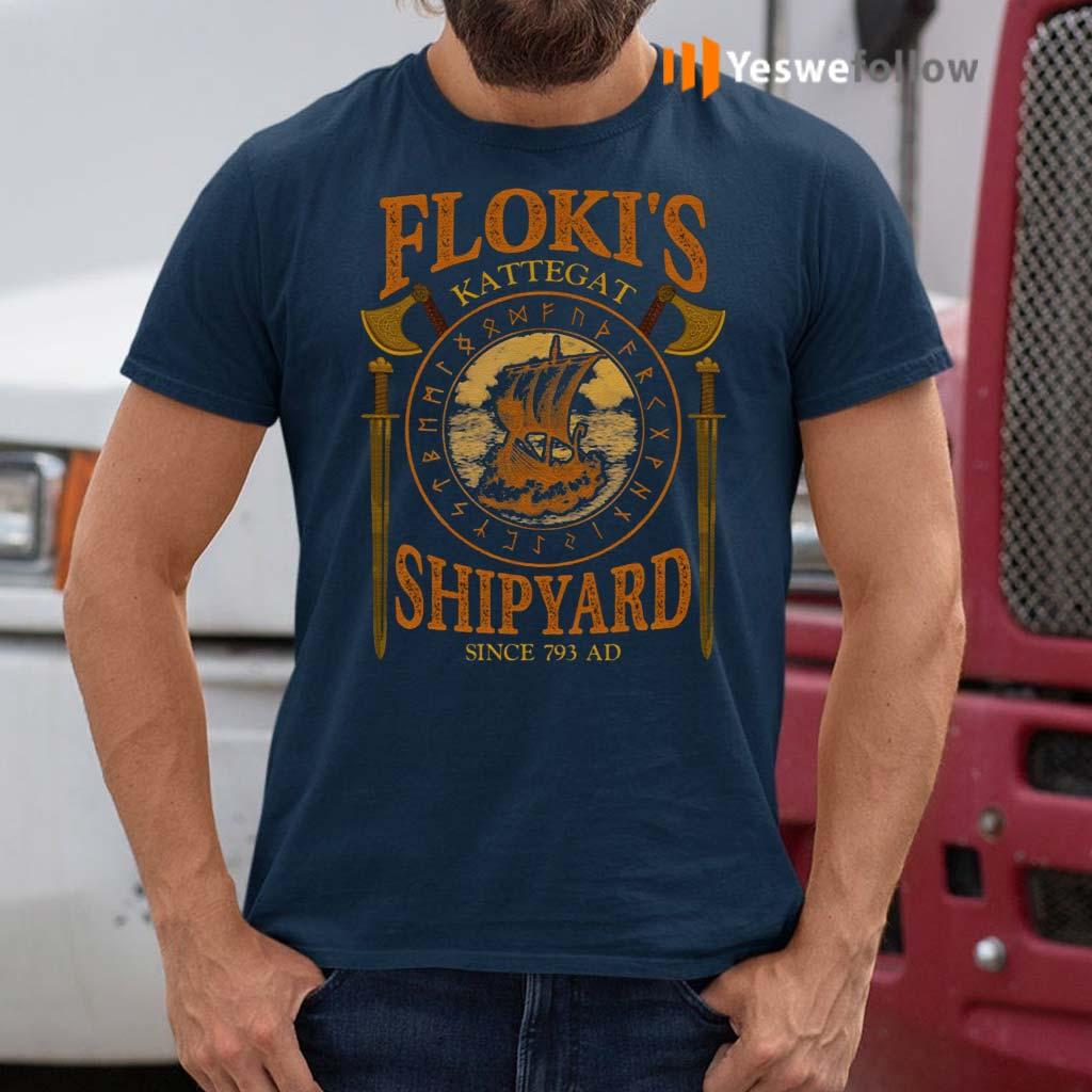 Floki's-Shipyard-Since-793-AD-Kattegat-T-Shirt