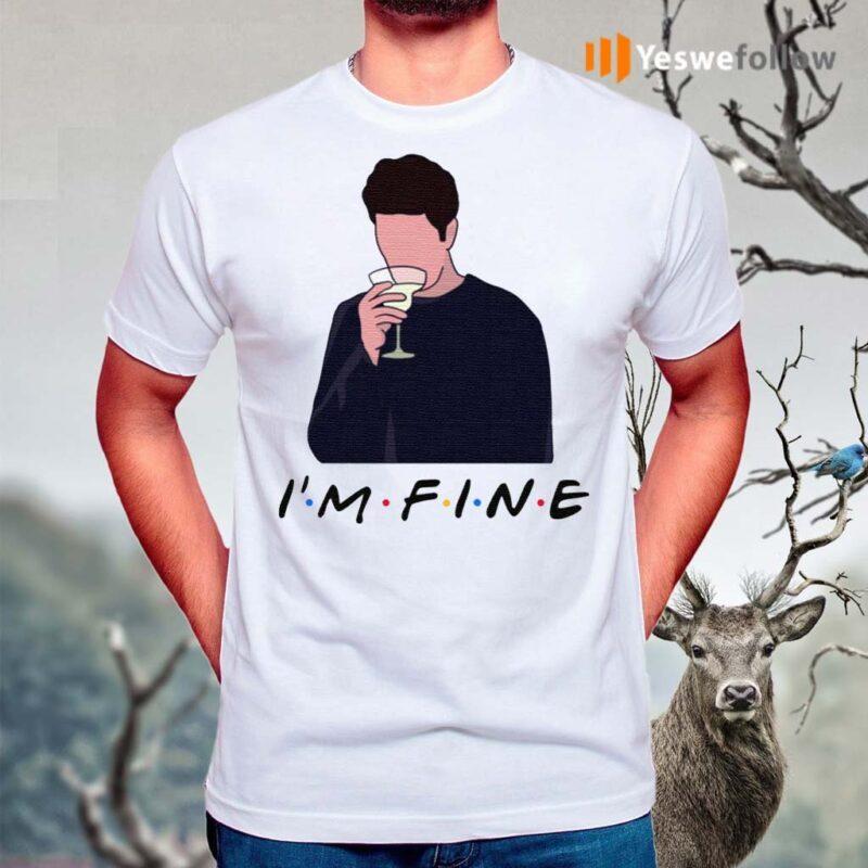 Friends-I'm-Fine-Ross-Geller-Lovers-TShirts