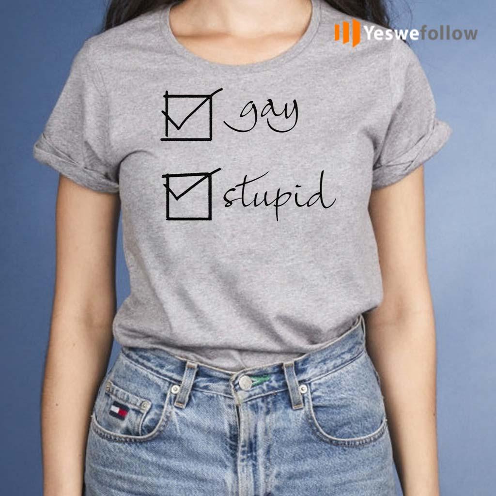 Gay-Stupid-T-Shirts
