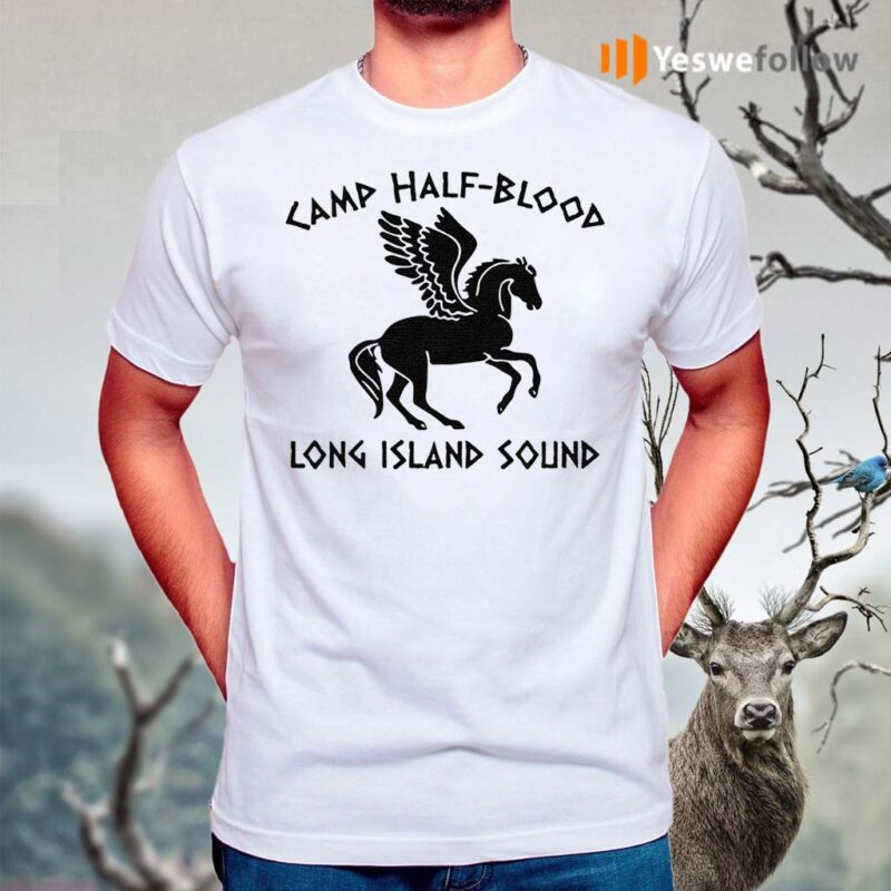 Horse-Angel-camp-half-blood-long-island-sound-shirt