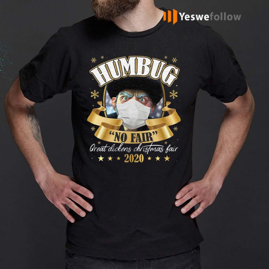 Humbug-No-Fair-2020-Christmas-Shirt