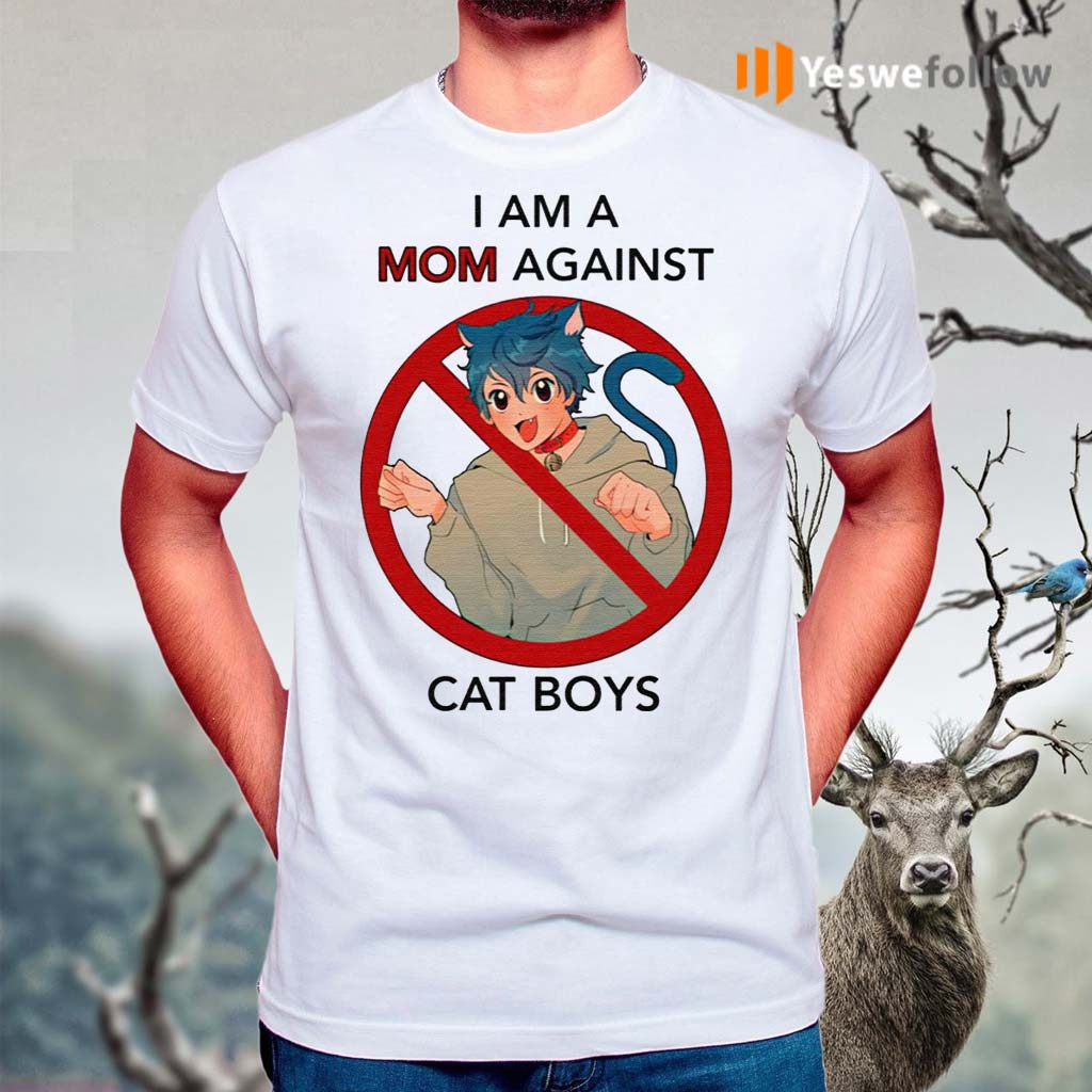 I-Am-A-Mom-Against-Cat-Boys-Shirts