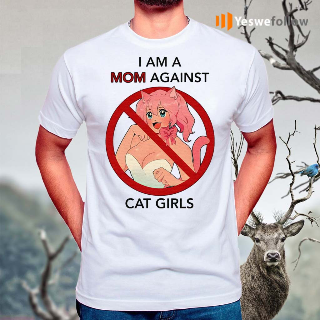I-Am-A-Mom-Against-Cat-Girls-Shirt