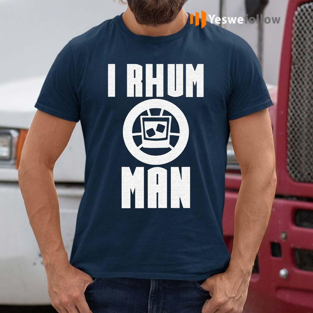 I-Rhum-Man-T-Shirts